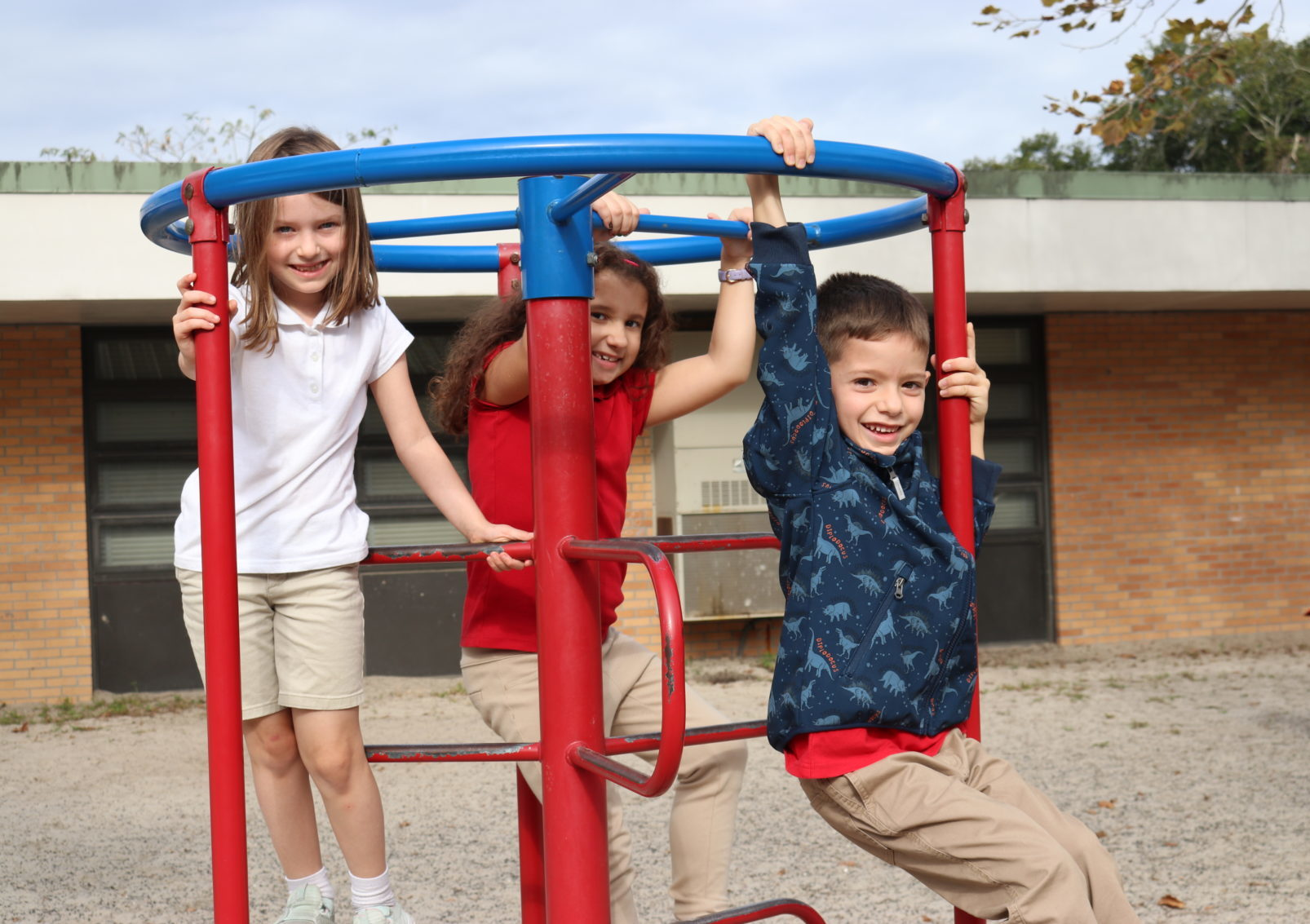Picture of children on the playground