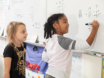 Math students at a Duval County Public School