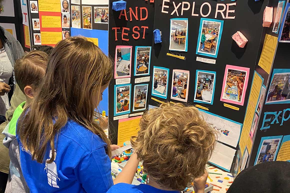 Science fair at John E. Ford Montessori K-8