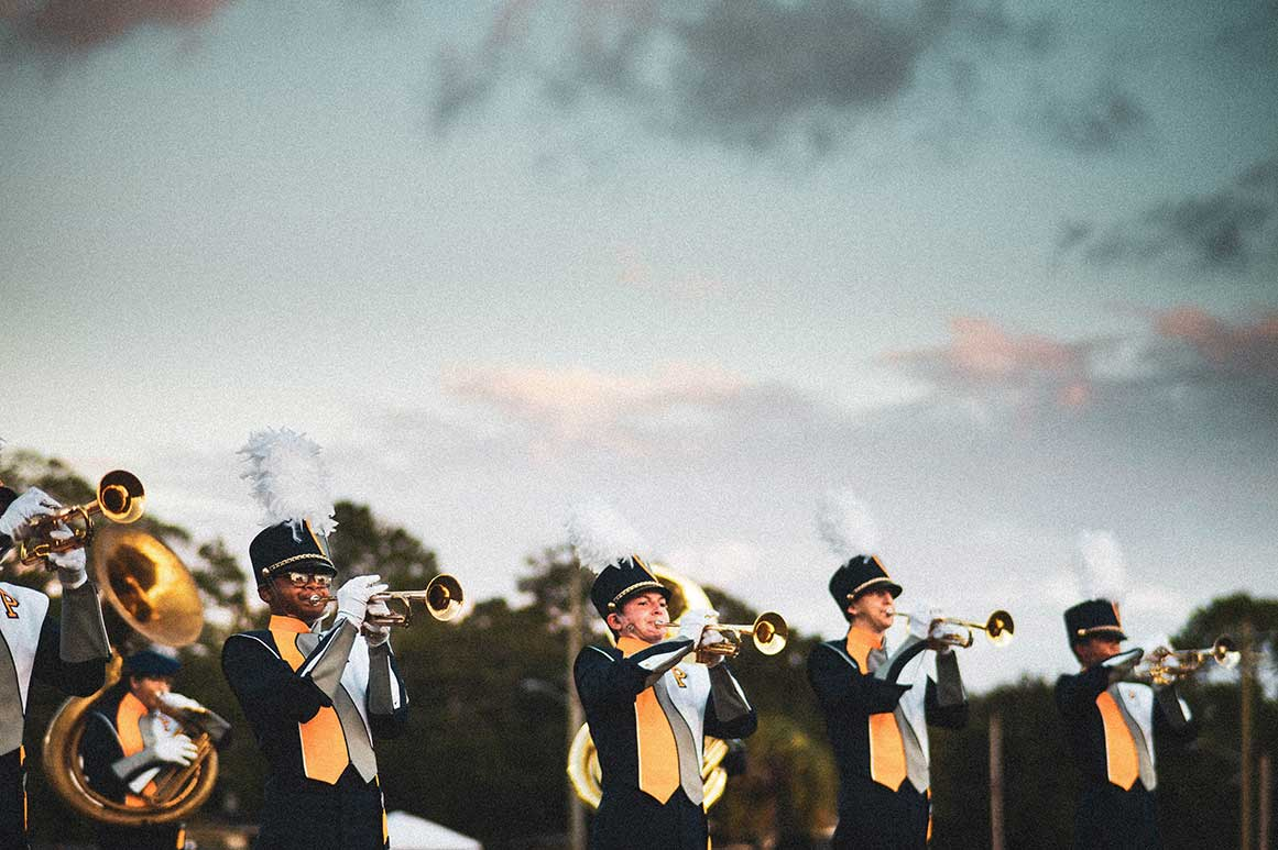 Paxon School for Advanced Studies marching band