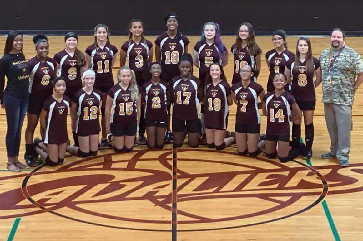 Fort Caroline Middle School for the Arts Girls Basketball Team